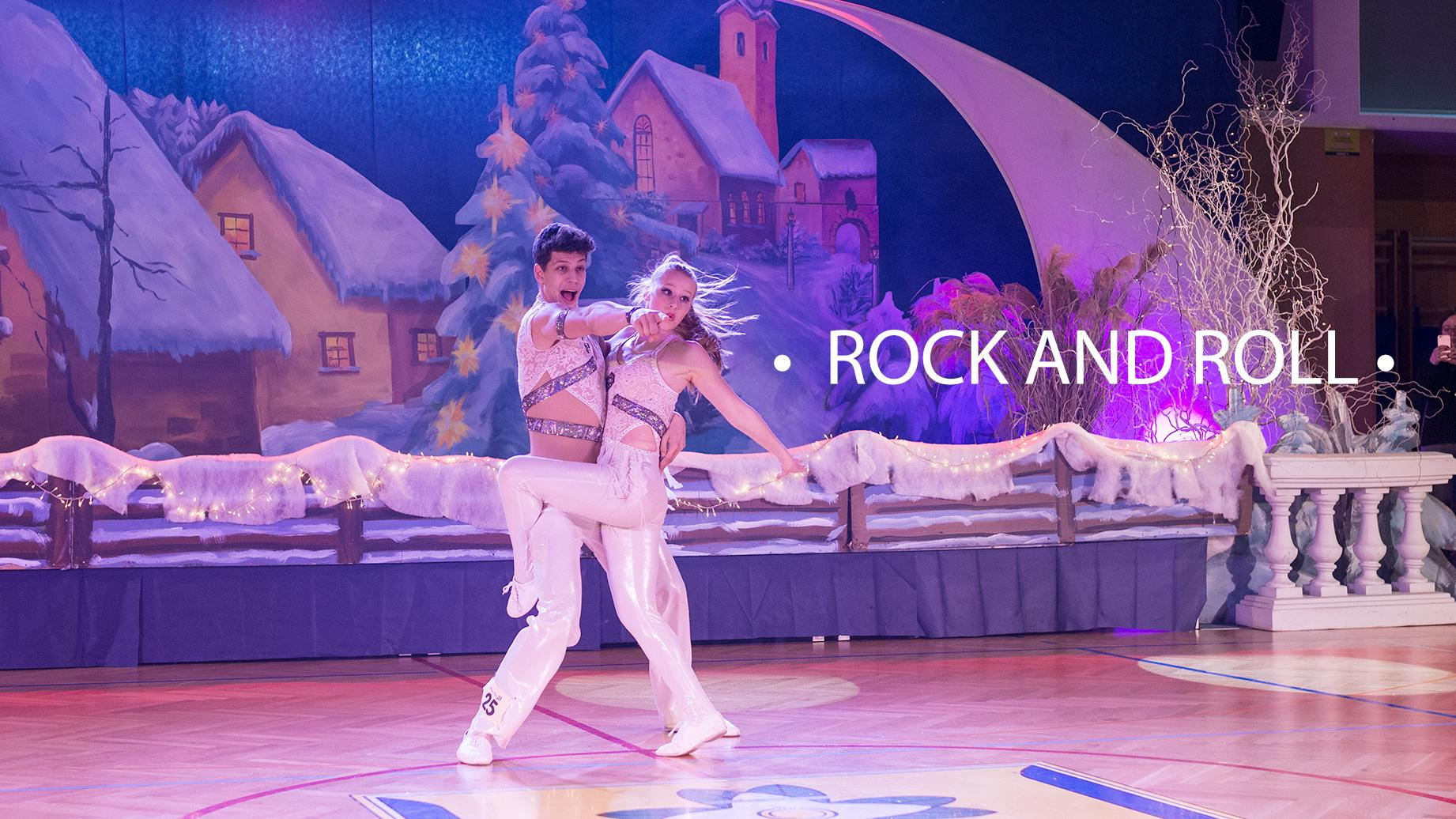 Rock and Roll plesni par na tekmovanju, Rock and Roll